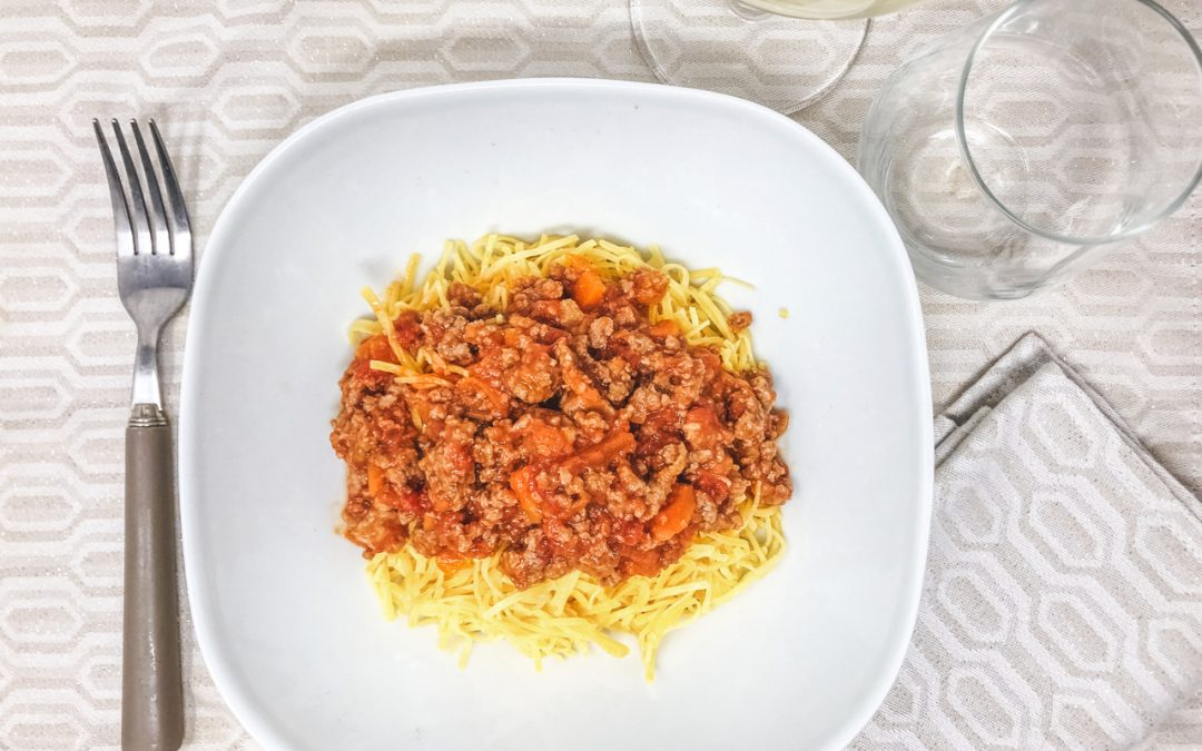 Hay with Ragù